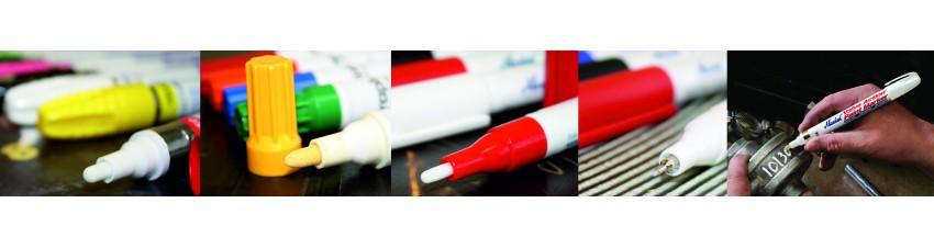Rotuladores de carga de tinta a la punta por accionamiento de válvula